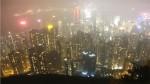 香港島で、夜景とギターと南京虫。
